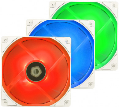 Кулер ID-COOLING XF-12025-RGB-TRIO Snow (3pcs Pack)