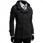 Пальто Chernyy Kot Coat 8419 BLACK Чорний XL