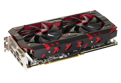 Видеокарта AMD Radeon RX 580 8GB GDDR5 Red Devil PowerColor (AXRX 580 8GBD5-3DH/OC)