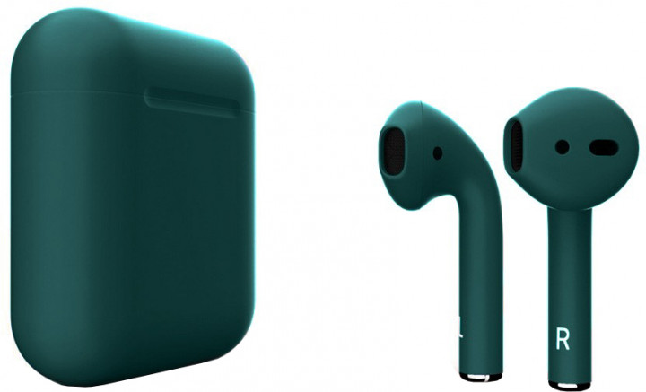 Наушники Apple AirPods with Wireless Charging Case Midnight Green (MRXJ2) (2-е поколение)