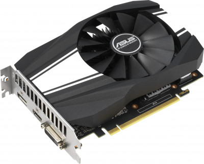Asus PCI-Ex GeForce GTX 1650 Super Phoenix 4GB GDDR6 (128bit) (1530/12002) (DVI, HDMI, DisplayPort) (PH-GTX1650S-4G)