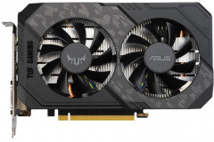 Asus PCI-Ex GeForce GTX 1660 Super TUF Gaming OC Edition 6GB GDDR6 (192bit) (1530/14002) (DVI, HDMI, DisplayPort) (TUF-GTX1660S-O6G-GAMING)