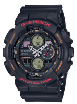 Годинник Casio GA-140-1A4ER G-Shock 51mm 20ATM