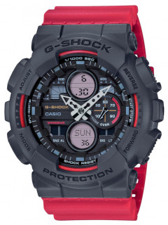 Часы Casio GA-140-4AER G-Shock 51mm 20ATM