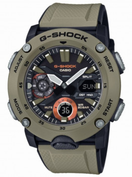 Часы Casio GA-2000-5AER G-Shock 46mm 20ATM