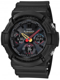 Часы Casio GAW-100BMC-1AER G-Shock 53mm 20ATM