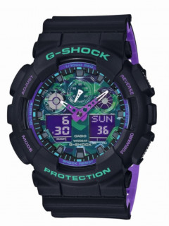 Часы Casio GA-100BL-1AER G-Shock 53mm 20ATM