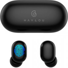 Наушники Xiaomi Haylou GT1 Plus TWS Qualcomm AptX Black (6971664930177)