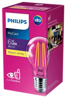 Світлодіодна лампа Philips Filament LED Classic 6-60W A60 E27 830 CL NDAPR (929001974508)