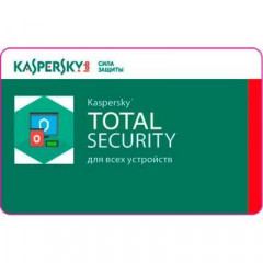 Антивирус Kaspersky Total Security Multi-Device 2 ПК 1 year Renewal License (KL1949XCBFR)