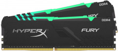 Оперативная память HyperX DDR4-3733 32768MB PC4-29864 (Kit of 2x16384) Fury RGB (HX437C19FB3AK2/32)