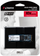 Kingston SSD SSDNow A400 480GB M.2 2280 SATAIII 3D V-NAND (SA400M8/480G) - зображення 3
