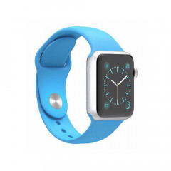 Смарт-часы Apple Watch Sport 42mm Silver Aluminum Case with Blue sport Band MLC52 (F00110415)