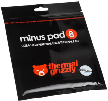 Прокладка Thermal Grizzly Minus Pad 8 30x30x1.5 mm (TG-MP8-30-30-15-1R)