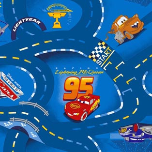 Килим AW World of cars 77
