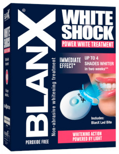 Зубна паста BlanХ White Shock Treatment + Led Bite 50 мл (8017331055427)