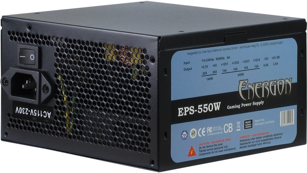 Inter-Tech Energon EPS-550W