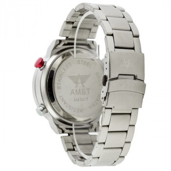 AMST 3017 Metall Silver-White