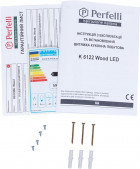 Вытяжка Perfelli K 6122 BL Wood LED - изображение 12