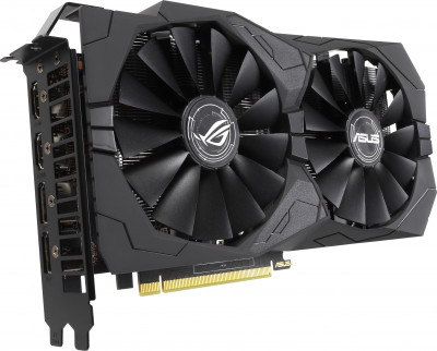 Asus PCI-Ex GeForce GTX 1650 ROG Strix Gaming 4GB GDDR5 (128bit) (1485/8002) (2 x HDMI, 2 x DisplayPort) (ROG-STRIX-GTX1650-4G-GAMING)