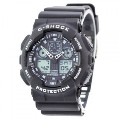 Часы Casio Часы G-Shock GA-100 Black-White - 225097