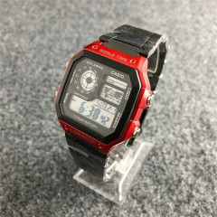 Часы Casio AE-1200 Black-Red - 225842