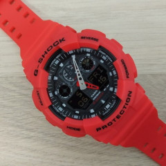 Часы Casio G-Shock GA-100 Red-Black - 226044