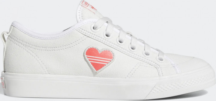 Кеды Adidas Originals Nizza Trefoil W EF5074 38.5 (6.5UK) 25 см Crystal White (4062053719113)