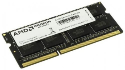 Оперативна пам'ять AMD SODIMM DDR3-1600 8192MB PC3-12800 R5 Performance Series (R538G1601S2S-U)