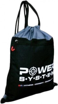 Рюкзак спортивний Power System PS-7011 Gym Sack Alpha Black/Grey (7011BG-3)