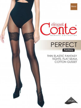 Колготки Conte Ce Fantasy Perfect 30 Den Bronz