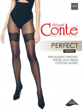 Колготки Conte Ce Fantasy Perfect 30 Den Grafit