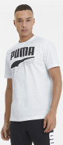Футболка Puma Rebel Bold Tee 58135602 XL White-Black (4062451155261) - изображение 1