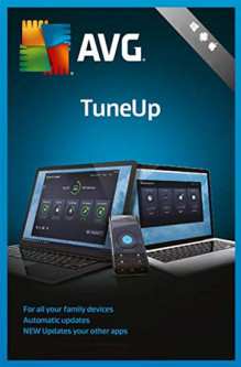 AVG TuneUp Unlimited на 1 год (электронная лицензия) (AVG-TUp-U-1Y)