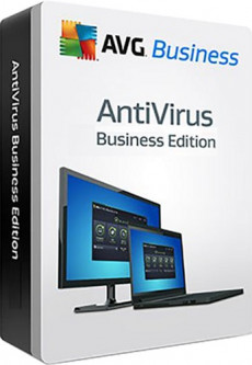 Антивирус AVG Antivirus Business Edition 5-19 ПК на 1 год (электронная лицензия) (AVG-ABE-(5-19)-1Y)