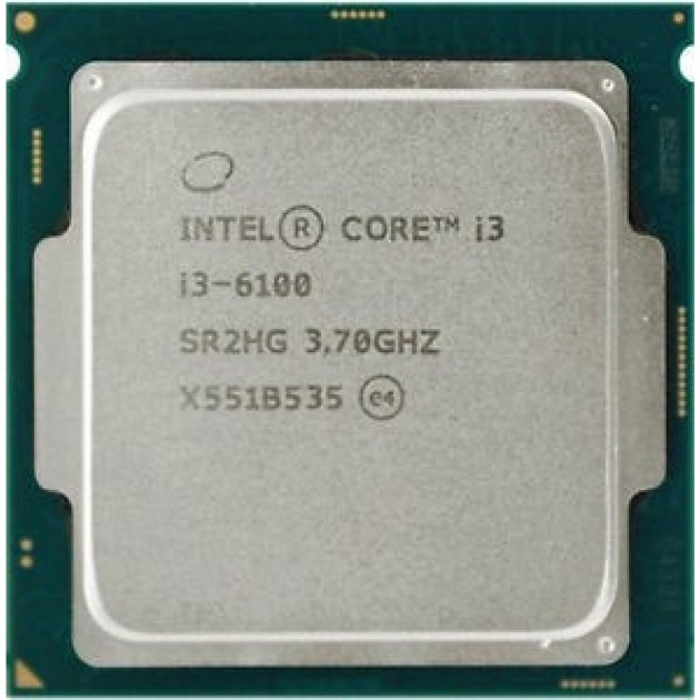 Процессор Intel Core i3-6100 3.70GHz/3MB/8GT/s (SR2HG) s1151, tray - зображення 1