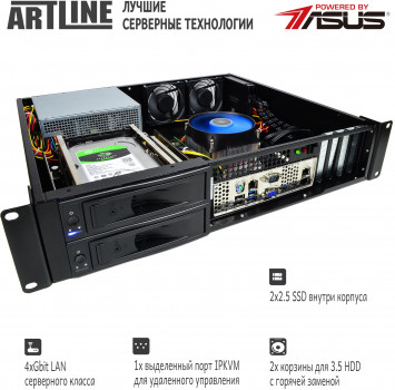 Сервер ARTLINE Business R25 v09 (R25v09)