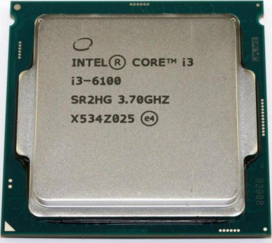 Процесор s-1151 Intel Core i3-6100 3.7 GHz/3MB Tray (CM8066201927202)