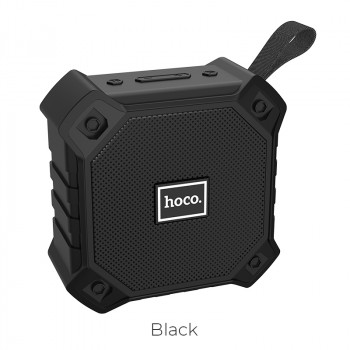 Портативная акустика HOCO sports BT5.0 IPX5 BS34 |AUX, TF CARD, FM, USB| Black