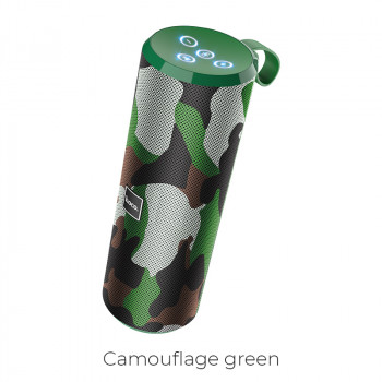 Портативная акустика HOCO Voice sports BT5.0 IPX5 BS33 |AUX, TF CARD, FM, USB| camouflage