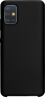 Панель Intaleo Velvet для Samsung Galaxy A51 (A515) Black (1283126497094)