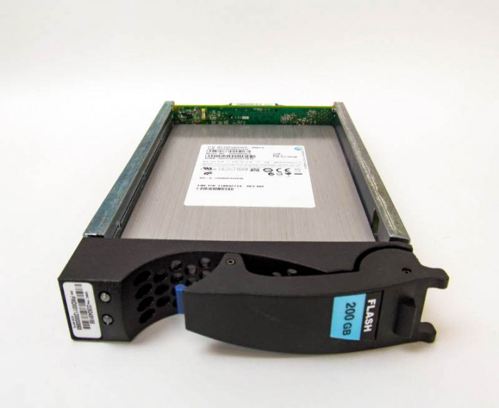 SSD EMC 200GB 3.5 in SAS SSD for VNX (5049185) Refurbished - зображення 1