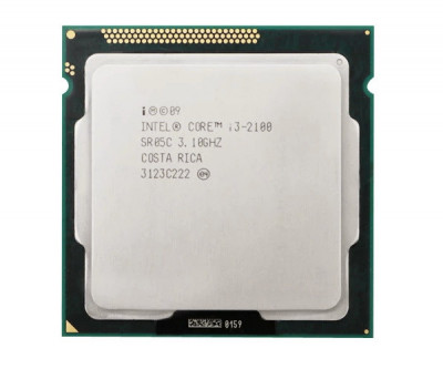 Процесор Intel Core i3-2100 3.1 GHz/3MB s1155 Б/У