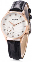 Жіночий годинник Guanqin Gold-White-Black GS19052 CL (GS19052GWB)