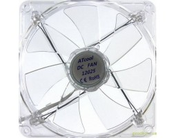 Вентилятор 120 mm Atcom 12025 Led Blue DC sleeve fan (3pin- 120*120*25) (14249)