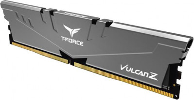 Память Team Group DDR4 8GB (2x4GB), 2666MHz, PC4-21300, T-Force Vulcan Z Gray (TLZGD48G2666HC18HDC01) 256467