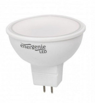 Лампочка LED EnerGenie EG-LED5W-MR16K30-01 (5Вт, MR16, теплий 3000K, 220V)