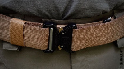 Тактический ремень Tasmanian Tiger Equipment belt MK2 SET L Coyote