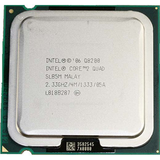 Б/У, Процессор, Intel® Core™2 Quad Q8200, 2,33 GHz, 4 МБ, 1066