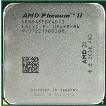 Б/У, Процессор, AMD Phenom II X4 945, 3.0GHz, 6MB, socket AM3